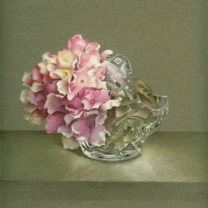 Hydrangeas in Crystal