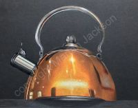 Copper Kettle Colored Pencil Tutorial