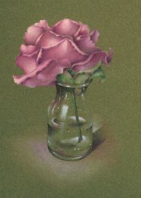 John's Rose Colored Pencil  Tutorial